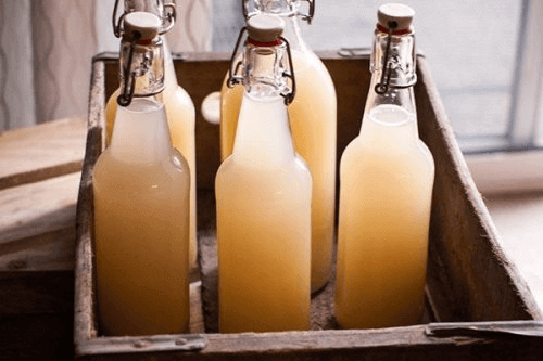 inkivääriolut pullossa