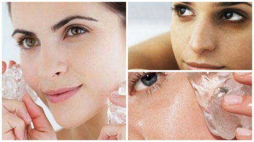 Jään seitsemän hyötyä kauneudenhoidossa