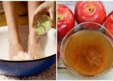 jalkakylpy ja omenaviinietikka
