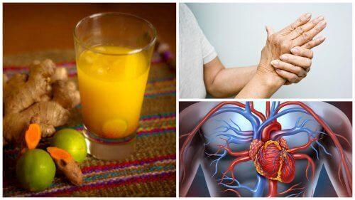 Kurkumajuoman 8 uskomatonta terveyshyötyä