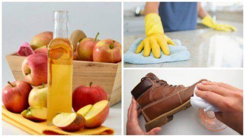7 parasta tapaa hyödyntää omenaviinietikkaa kotona