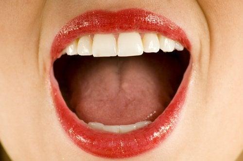 käytä kookosöljyä suun desinfiointiin