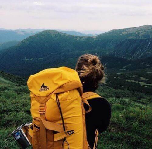 vuorilla unelmia toteuttamassa