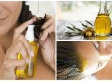 oliiviöljy hiustenhoidossa