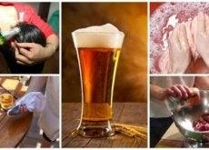 9 kotikäyttöä oluelle
