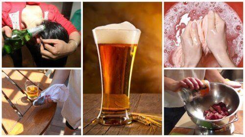 9 vaihtoehtoista kotikäyttöä oluelle