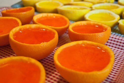 ilmanraikastaja appelsiinista