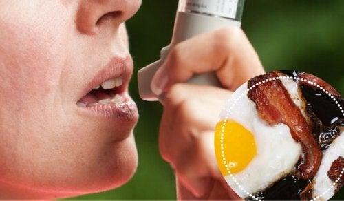 9 ruokaa, joita astmaatikkojen tulisi välttää