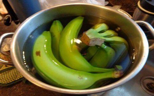 banaanien puhdistus