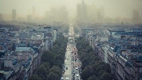 kaupungin saasteet