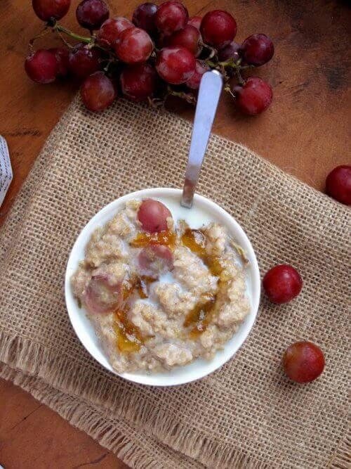 Kun syöt kaurapuuroa iltapalaksi, pidät glukoositasot tasapainossa.