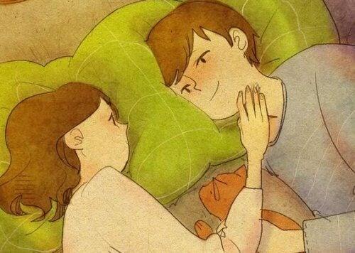 Kun muistelet ensirakkauttasi, muistuu ajat lapsuudesta tai nuoruudesta mieleen.