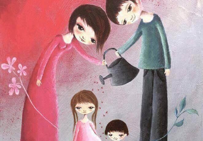 Lasten kasvattaminen ei tarkoita heidän luomistaan, vaan heidän itse itsensä luomista