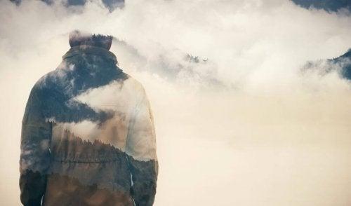 mies ja pilvet