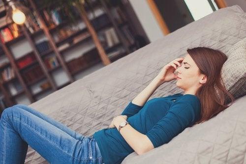 elimistön viestejä vaaroista: vatsakipu