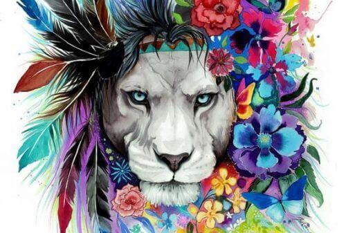 leijonan rohkeus