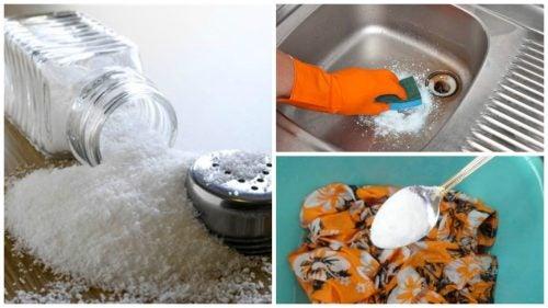 suolaa kodin puhdistukseen