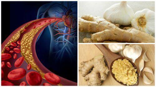 Torju korkeaa verenpainetta ja kolesterolia inkiväärillä ja valkosipulilla