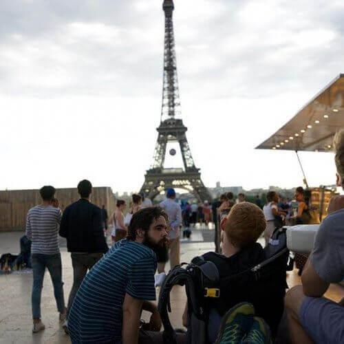 Kevan Chandler Pariisissa