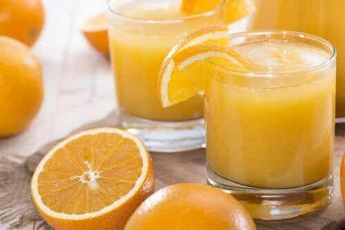 8 C-vitamiinin puutosoiretta
