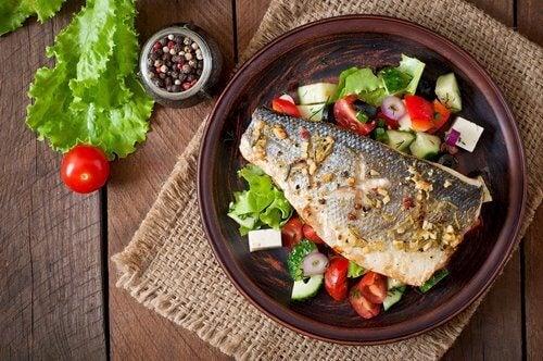 oikea ruokavalio sisältää kalaa