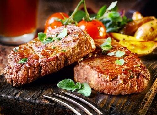lievitä alhaista verenpainetta syömällä lihaa