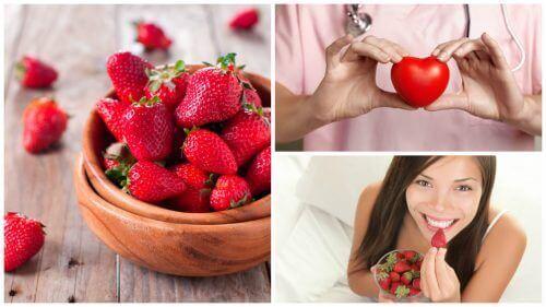 8 asiaa joita mansikat tekevät terveydellesi