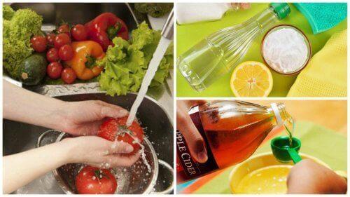 7 vinkkiä kasvisten ja hedelmien desinfioimiseen