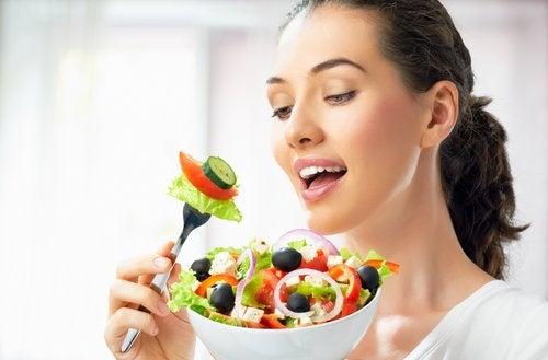 salaatti ei ole haitaksi kasvoillesi