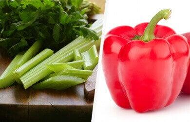 Valmista rasvaa polttavaa keittoa kasviksista.