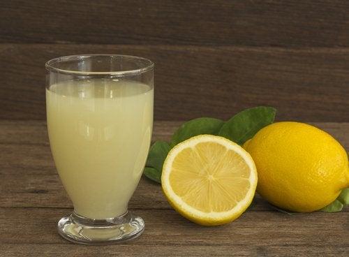 sitruunamehu on hyvä muutos ruokavalioon