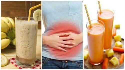 5 luonnollista smoothieta jotka auttavat säätelemään ruoansulatustasi