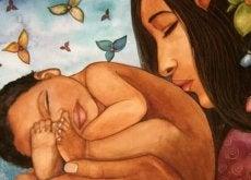antakaa vaistojenne johtaa teitä äidit