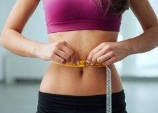 painon vähentämisen tavoite voi olla kapea vyötärö