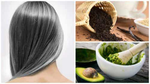 Vähennä harmaita hiuksia näillä 6 kotihoidolla