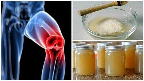 Käytä gelatiinia nivelkipujen hoitoon