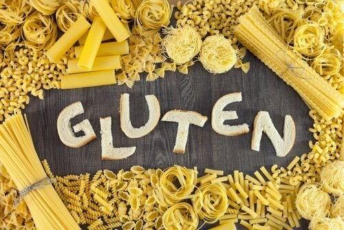 gluteeni pastassa