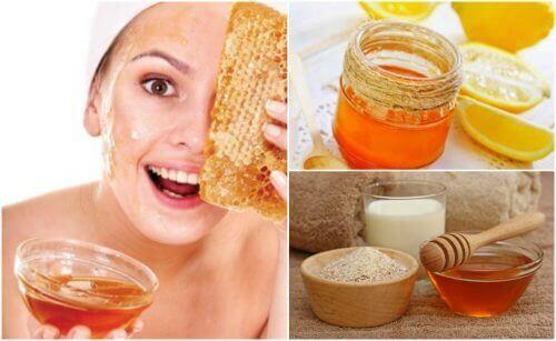 5 hunajanaamiota uurteiden häivyttämiseksi