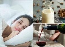 juomat, jotka auttavat selättämään uniongelmat