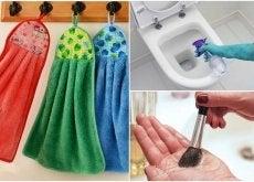 kodin esineet jotka tulisi pestä joka päivä