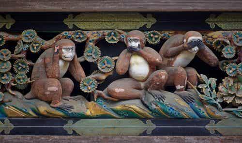 """""""Kolmen viisaan apinan"""" todellinen, kiehtova opetus"""