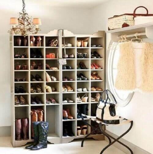 20 luovaa ideaa kenkien säilytykseen