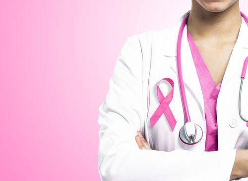 vaaleanpunainen nauha on rintasyövän symboli