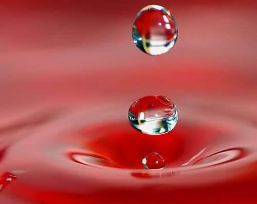vesipisarat ja ihmisen mieli
