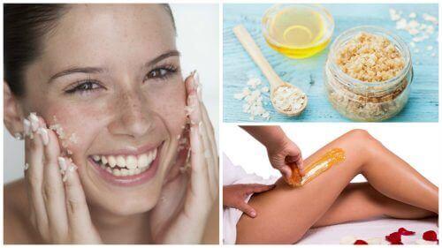 5 kauneushoitoa sokerista yleisten ihovaivojen hoitoon