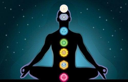 Chakrat ovat energianlähteitä kehossa.