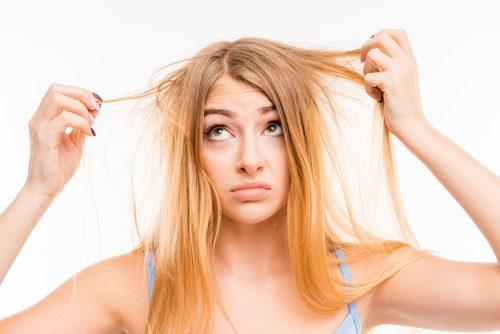 terveet hiukset tarvitsevat riittävästi proteiinia