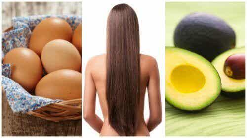 8 ruoka-ainetta hiusten kasvun nopeuttamiseen