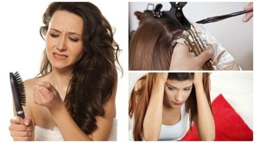 Lähteekö sinulta paljon hiuksia? Tässä 7 mahdollista syytä