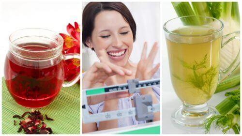 Pudota painoa helposti näillä 6 luonnollisella juomalla